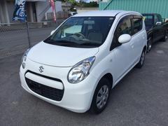 沖縄の中古車 スズキ アルト 車両価格 28万円 リ済込 平成25年 8.1万K ホワイト