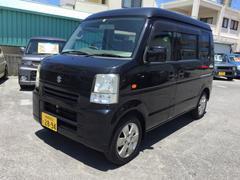 沖縄の中古車 スズキ エブリイ 車両価格 28万円 リ済込 平成20年 18.3万K ブラック
