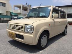 沖縄の中古車 スズキ アルトラパン 車両価格 15万円 リ済込 平成20年 13.1万K ベージュ