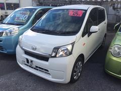 沖縄の中古車 ダイハツ ムーヴ 車両価格 42万円 リ済込 平成25年 9.7万K ホワイト