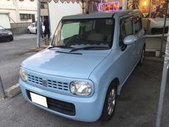 沖縄の中古車 スズキ アルトラパン 車両価格 39万円 リ済別 平成21年 8.7万K ライトブルー