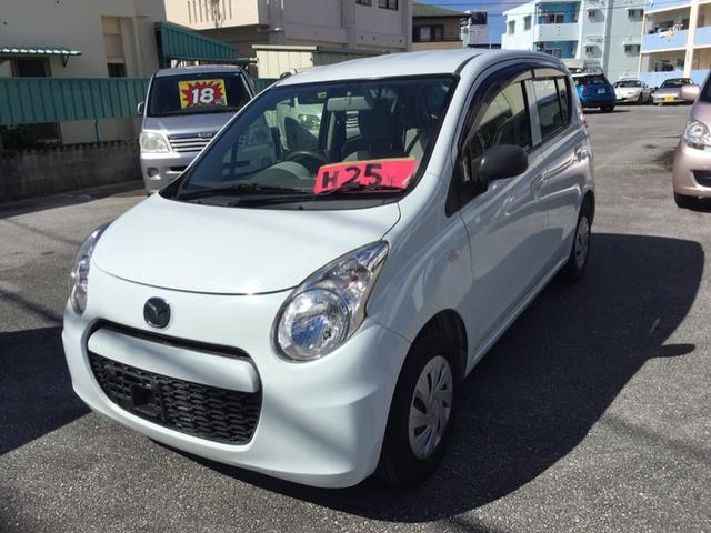 沖縄の中古車 マツダ キャロルエコ 車両価格 34万円 リ済込 2013(平成25)年 9.7万km ライトブルー