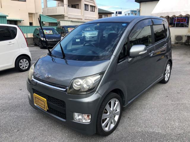 沖縄の中古車 ダイハツ ムーヴ 車両価格 28万円 リ済込 平成19年 8.8万km シルバー