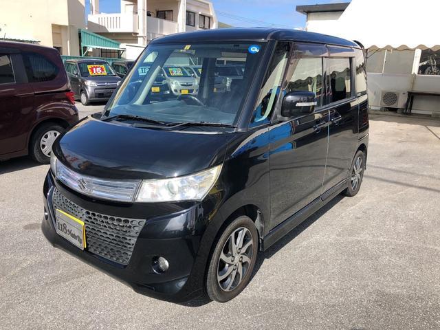 沖縄の中古車 日産 ルークス 車両価格 38万円 リ済込 平成21年 13.1万km ブラックM