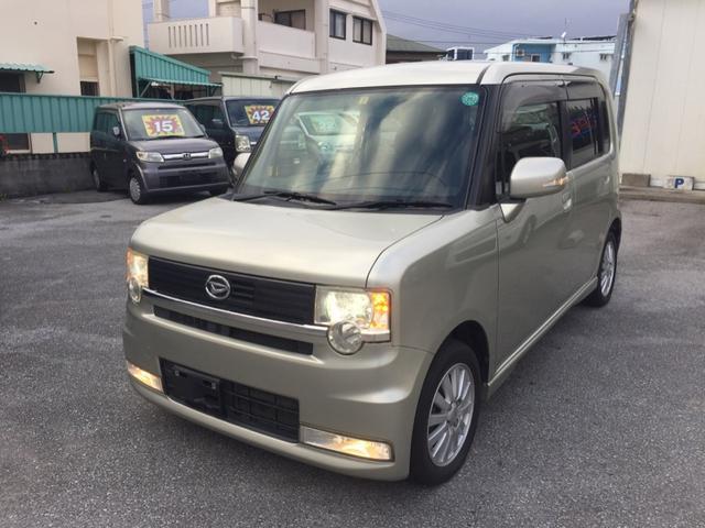 沖縄の中古車 ダイハツ ムーヴコンテ 車両価格 39万円 リ済込 平成21年 9.1万km ライトゴールド