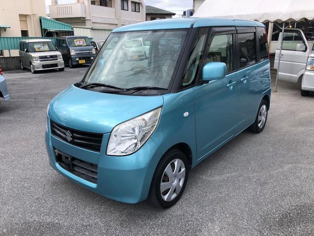 沖縄の中古車 スズキ パレット 車両価格 48万円 リ済込 平成21年 4.4万km ブルー