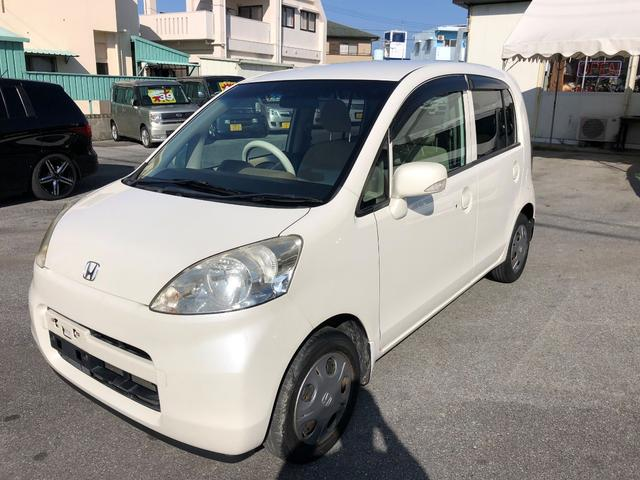 沖縄の中古車 ホンダ ライフ 車両価格 16万円 リ済込 平成19年 13.6万km ホワイトM