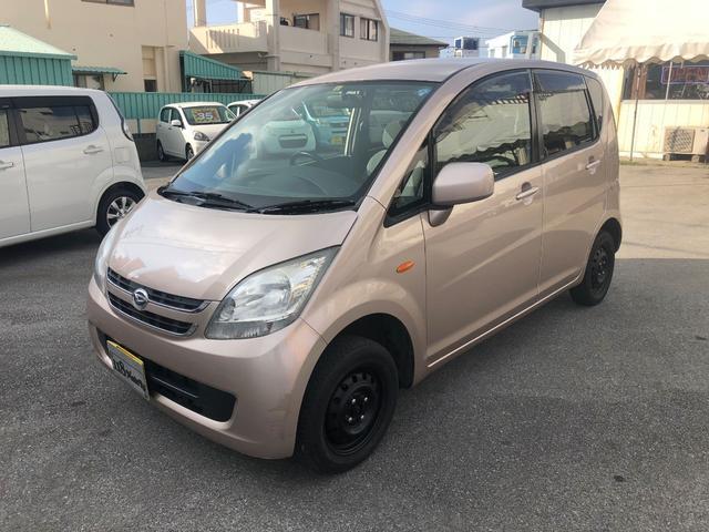 沖縄の中古車 ダイハツ ムーヴ 車両価格 19万円 リ済込 平成19年 11.7万km ピンクM