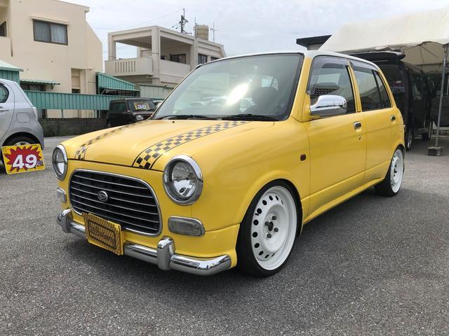 沖縄の中古車 ダイハツ ミラジーノ 車両価格 49万円 リ済込 1999(平成11)年 19.1万km イエロー