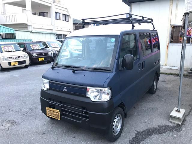 沖縄県糸満市の中古車ならミニキャブバン CD・NEWペイントマットネイビー・タイミングベルト済