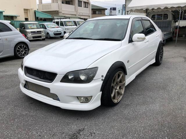 沖縄県の中古車ならアルテッツァ RS200 Zエディション トラスト ターボキット