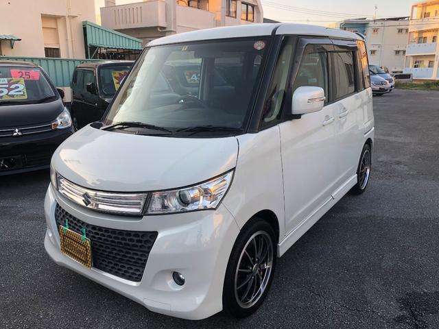 沖縄の中古車 スズキ パレットSW 車両価格 35万円 リ済込 2010(平成22)年 14.6万km パールM