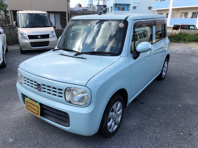 沖縄の中古車 スズキ アルトラパン 車両価格 25万円 リ済込 2008(平成20)年 14.7万km グリーン