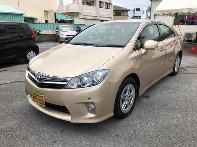 沖縄の中古車 トヨタ SAI 車両価格 68万円 リ済込 2010(平成22)年 8.8万km ゴールドM