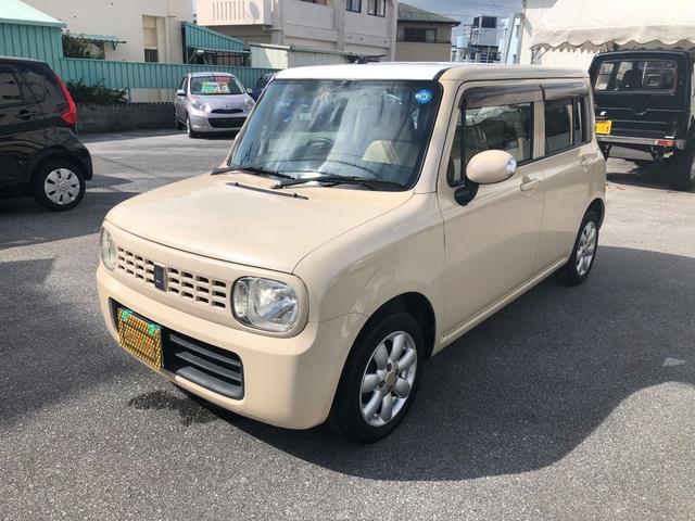 沖縄の中古車 スズキ アルトラパン 車両価格 28万円 リ済込 2009(平成21)年 12.0万km ゴールドM