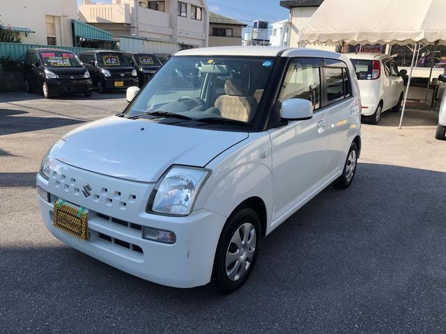 沖縄の中古車 スズキ アルト 車両価格 15万円 リ済込 2007(平成19)年 5.1万km パールM