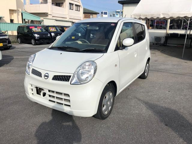 沖縄の中古車 日産 モコ 車両価格 14万円 リ済込 2007(平成19)年 13.0万km パールホワイト