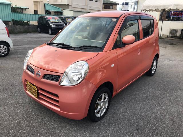 沖縄の中古車 日産 モコ 車両価格 18万円 リ済込 2010(平成22)年 10.7万km ピンク