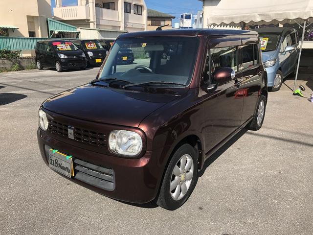 沖縄の中古車 スズキ アルトラパン 車両価格 38万円 リ済込 2010(平成22)年 8.3万km ブラウンM