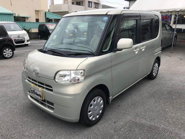 沖縄の中古車 ダイハツ タント 車両価格 25万円 リ済込 2009(平成21)年 9.3万km ゴールドII