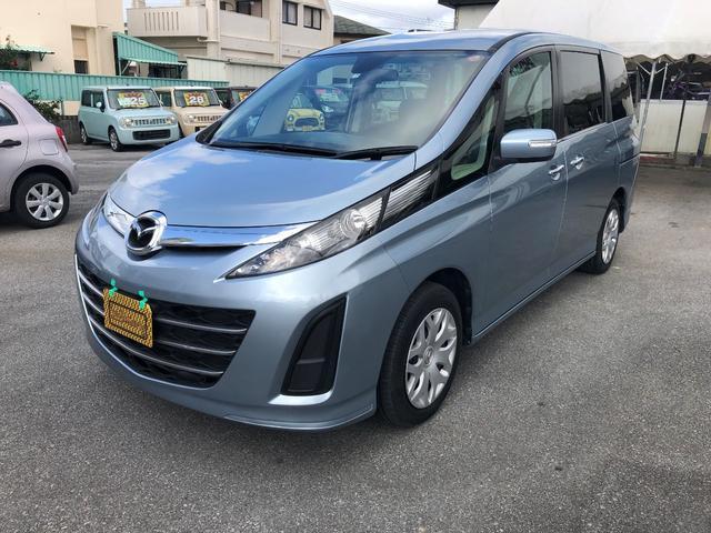 沖縄の中古車 マツダ ビアンテ 車両価格 78万円 リ済込 2013(平成25)年 9.7万km ブルーM