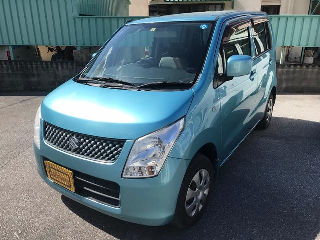 沖縄県の中古車ならワゴンR FX5速MT2年保証付