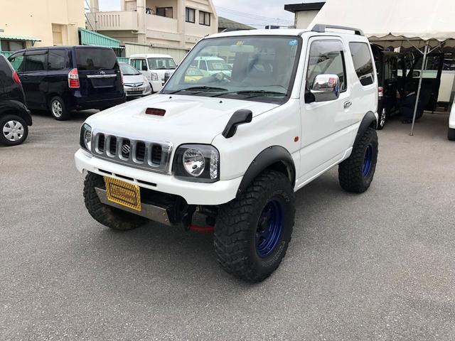 沖縄の中古車 スズキ ジムニー 車両価格 68万円 リ済込 1999(平成11)年 16.5万km ホワイト