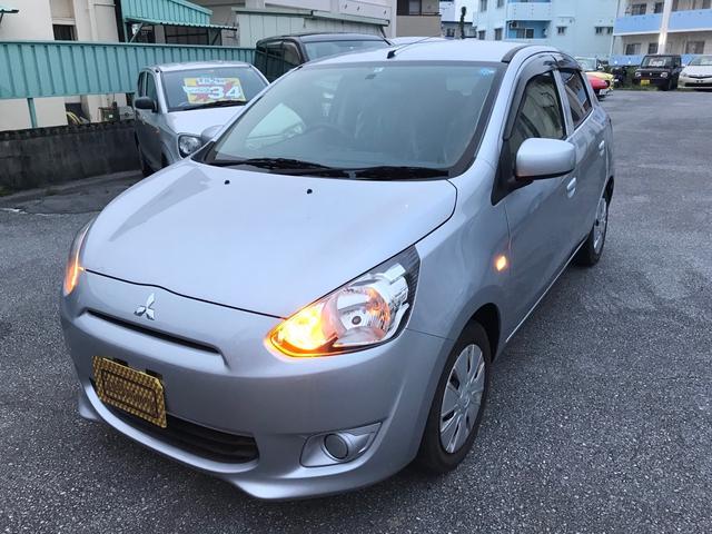 沖縄県糸満市の中古車ならミラージュ S新品タイヤ4本2年ロング保証