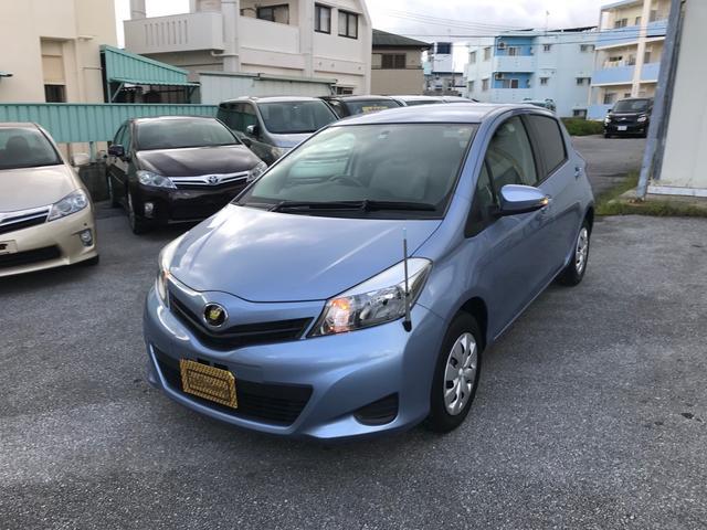 沖縄の中古車 トヨタ ヴィッツ 車両価格 49万円 リ済込 2011(平成23)年 2.3万km ライトブルーM
