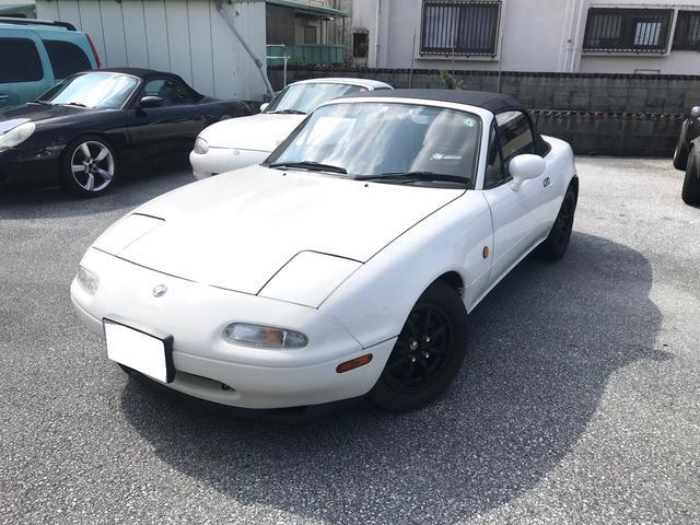 沖縄県糸満市の中古車ならユーノスロードスター スペシャルパッケージ 最終型5速1800ccアンダーコート済み錆止め