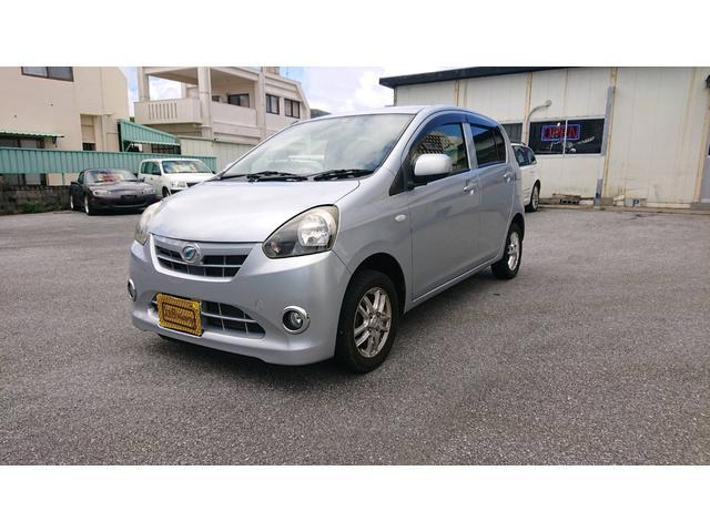 沖縄の中古車 ダイハツ ミライース 車両価格 27万円 リ済込 2012(平成24)年 9.8万km シルバーM