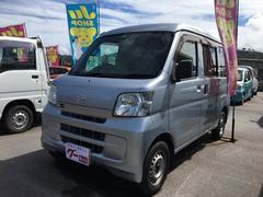 沖縄の中古車 ダイハツ ハイゼットカーゴ 車両価格 40万円 リ済込 平成23年 15.3万K シルバー
