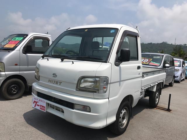 沖縄の中古車 ダイハツ ハイゼットトラック 車両価格 44万円 リ済込 平成16年 10.4万km ホワイト