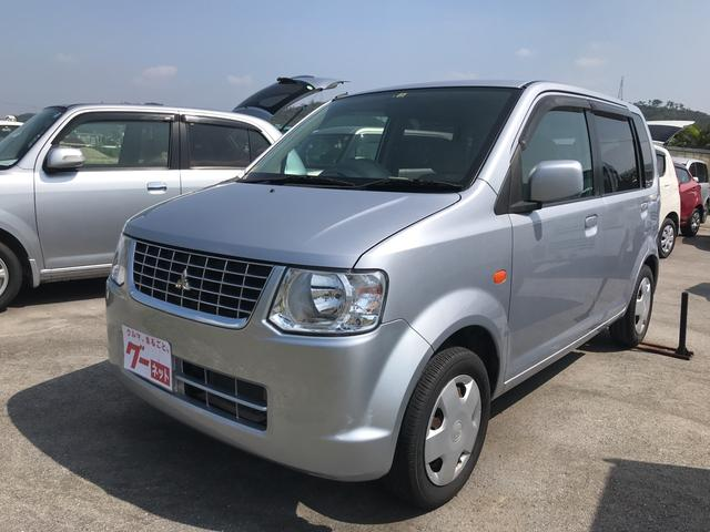 沖縄の中古車 三菱 eKワゴン 車両価格 45万円 リ済込 2011(平成23)年 7.6万km シルバー