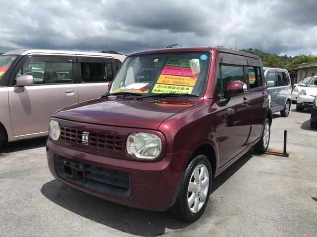 沖縄の中古車 スズキ アルトラパン 車両価格 43万円 リ済込 2008(平成20)年 7.8万km ワイン