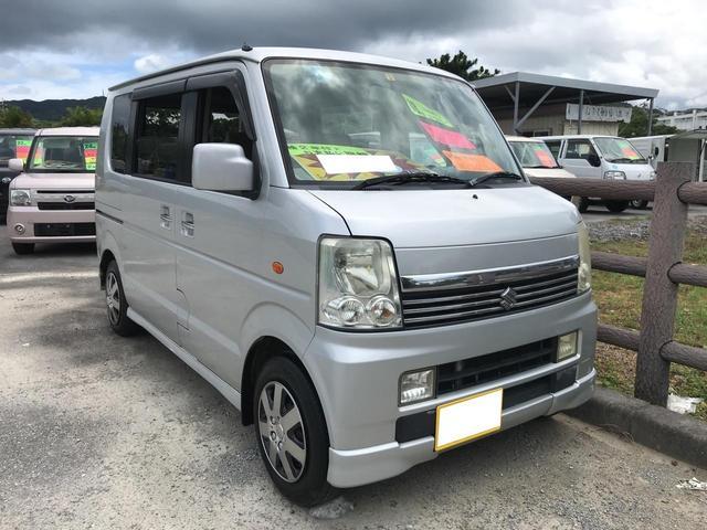 沖縄県名護市の中古車ならエブリイワゴン PZターボスペシャル
