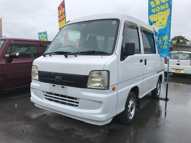 沖縄の中古車 スバル サンバーバン 車両価格 44万円 リ済込 2007(平成19)年 4.7万km ホワイト