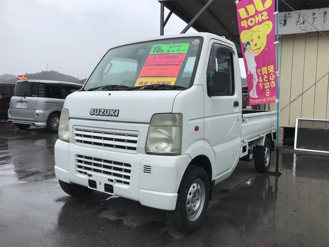 スズキ KCエアコン・パワステ AT車 4WD