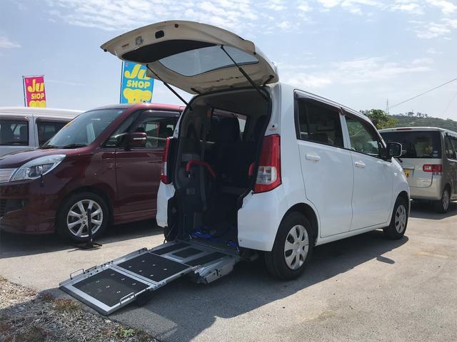 沖縄の中古車 スズキ ワゴンR 車両価格 65万円 リ済込 2011(平成23)年 5.5万km ホワイト
