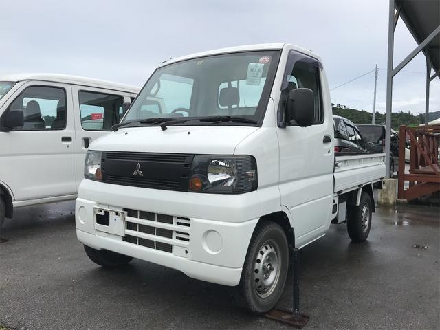 沖縄の中古車 三菱 ミニキャブトラック 車両価格 49万円 リ済込 2008(平成20)年 5.9万km ホワイト