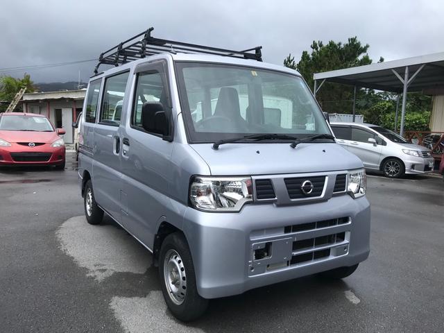 沖縄の中古車 日産 クリッパーバン 車両価格 55万円 リ済込 2013(平成25)年 7.7万km シルバー