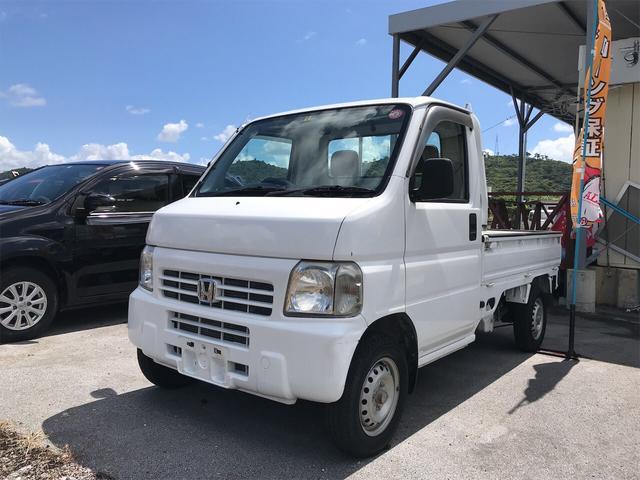 沖縄の中古車 ホンダ アクティトラック 車両価格 40万円 リ済込 2000(平成12)年 8.4万km ホワイト