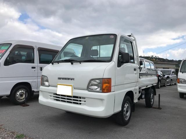 沖縄の中古車 スバル サンバートラック 車両価格 38万円 リ済込 2001(平成13)年 7.2万km ホワイト