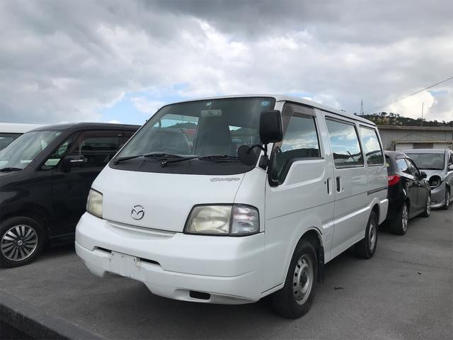 沖縄の中古車 マツダ ボンゴバン 車両価格 40万円 リ済込 2004(平成16)年 20.1万km ホワイト