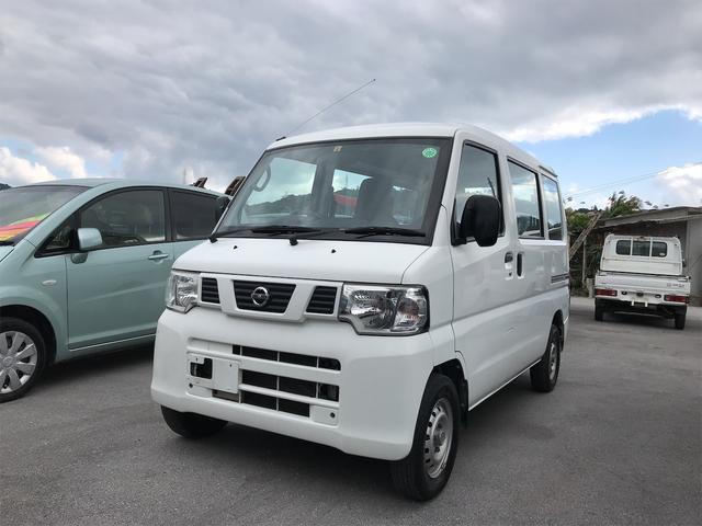 沖縄の中古車 日産 クリッパーバン 車両価格 49万円 リ済込 2013(平成25)年 9.8万km ホワイト