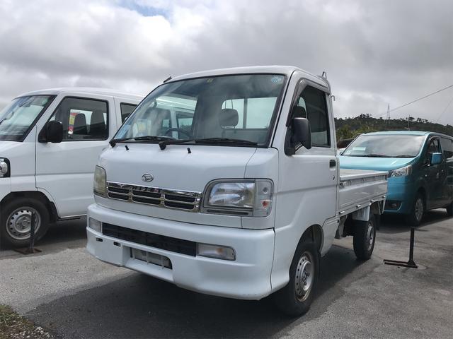 沖縄の中古車 ダイハツ ハイゼットトラック 車両価格 42万円 リ済込 2000(平成12)年 3.7万km ホワイト