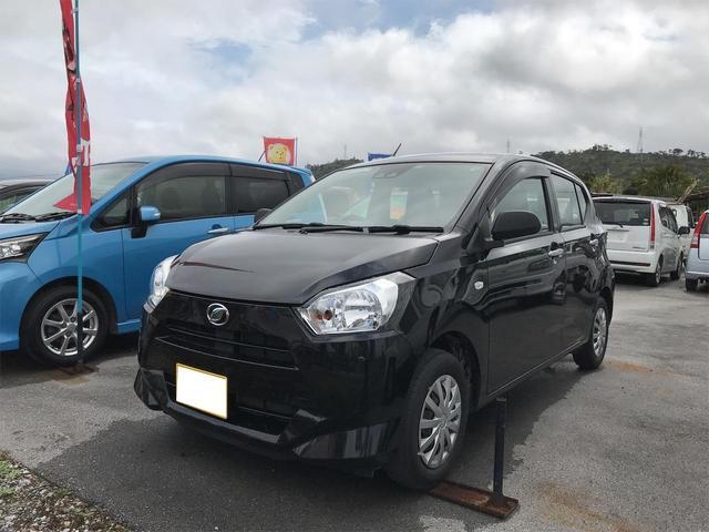 沖縄の中古車 ダイハツ ミライース 車両価格 63万円 リ済込 2017(平成29)年 3.5万km ブラック