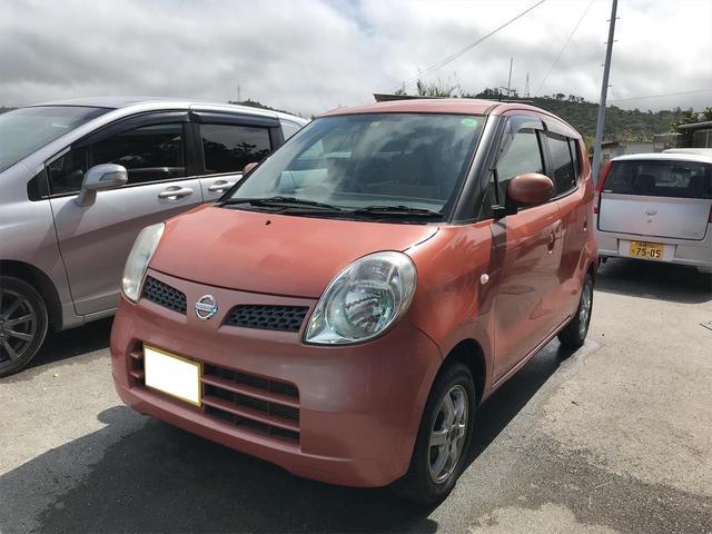 沖縄の中古車 日産 モコ 車両価格 39万円 リ済込 2010(平成22)年 4.8万km オレンジ