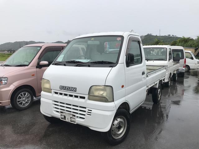沖縄の中古車 スズキ キャリイトラック 車両価格 38万円 リ済込 2001(平成13)年 8.9万km ホワイト