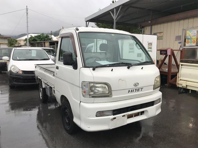 沖縄の中古車 ダイハツ ハイゼットトラック 車両価格 39万円 リ済込 2002(平成14)年 5.3万km ホワイト